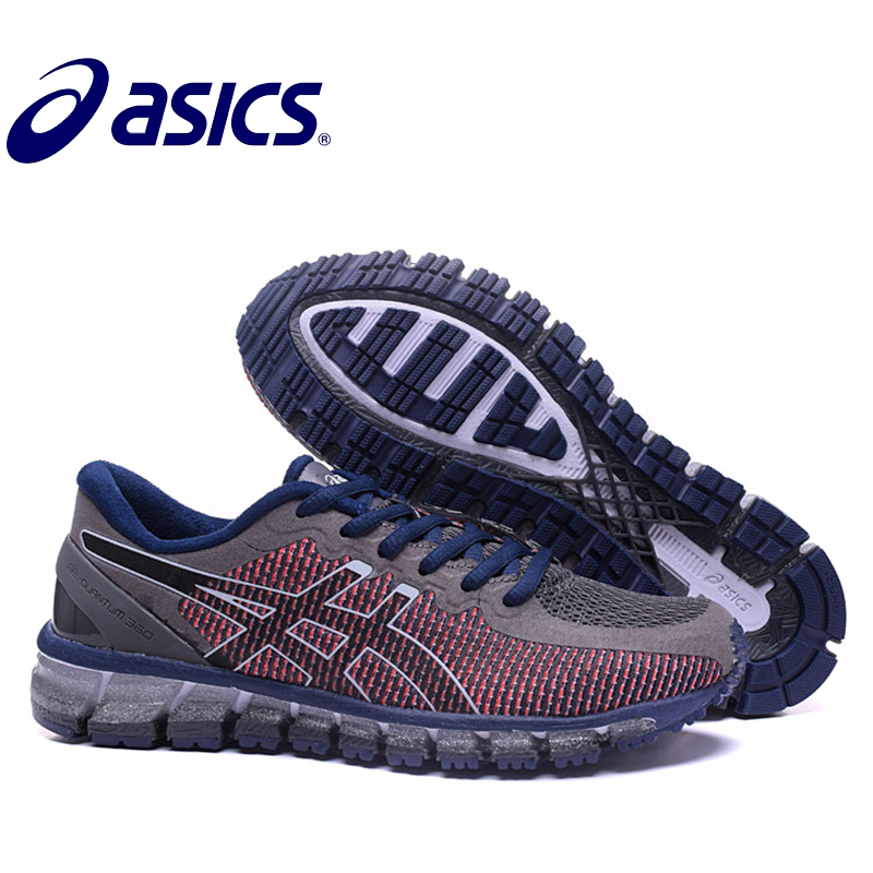 Original New Arrival Asics Gel-Quantum 360 Man's Shoes Breathable Stable Running Shoes Outdoor Tennis Shoes Hongniu asics tiger gel lyte iii lc