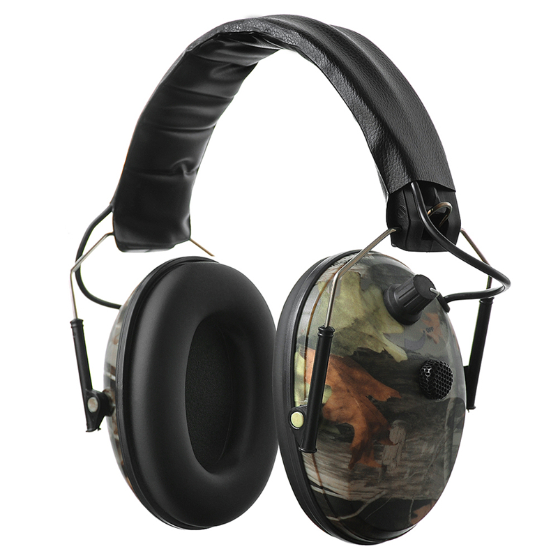 Electronic Shooting/Hunting Hearing Protection Ear Muffs with Sound Amplification and Suppression - NRR 24dB Hearing Protector все цены