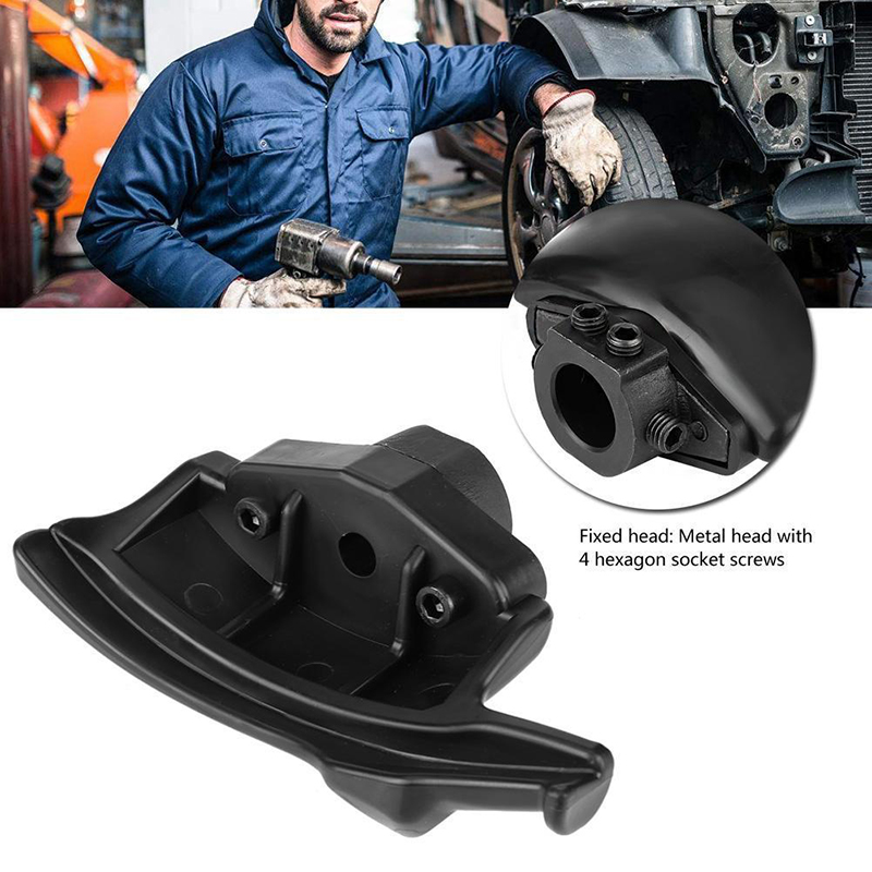 28mm/1.1 inches Black Tire Changer Machine Plastic Nylon Mount Demount Duck Head Durable Car Accessories|Tire Accessories| |  - title=