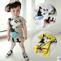 Summer New Children Girl's 2PC Sets cartoon baby Clothing sets girls boys clothes