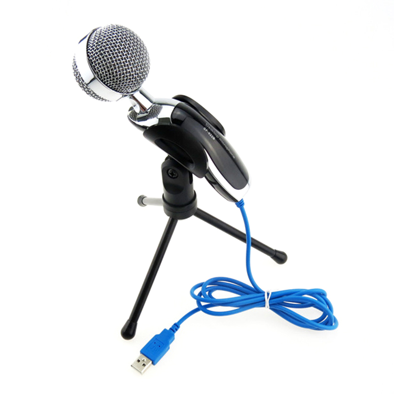 professional usb condenser microphone podcast recording karaoke k songmicrophone for pc computer. Black Bedroom Furniture Sets. Home Design Ideas