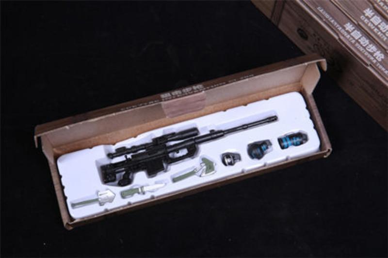 6pcs Set Gun Toy 1//6 RPG M14 Automatic Rifle Assembly Weapon Model F  Figure CN