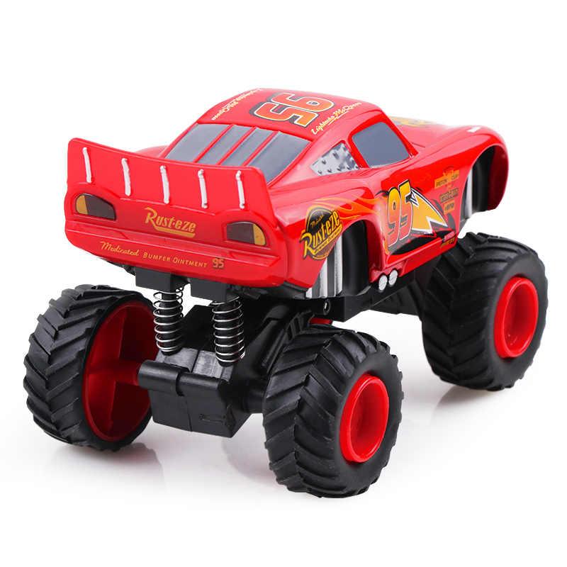 Автомобили disney Pixar Cars 3 Lightning McQueen Monster Pull Back мигающий Джексон шторм литой модельный автомобиль игрушки на день рождения для детей