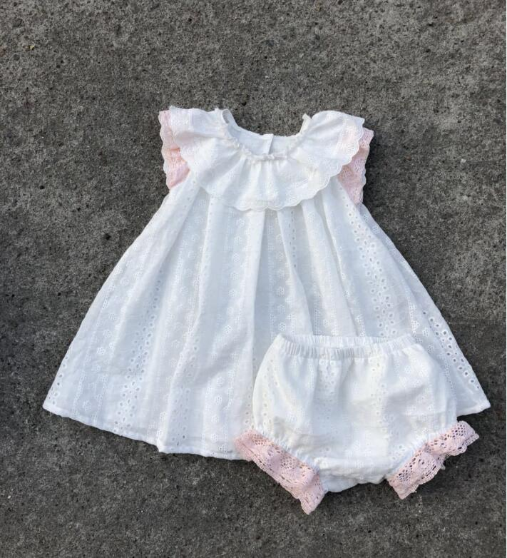 Y1812768 2018 Baby Girls Dress Lace Sleeveless Toddler Girl Dress Summer Fashion Girls Princess Dress Girls Birthday Dress ems dhl free shipping toddler little girl s 2017 princess ruffles layers sleeveless lace dress summer style suspender
