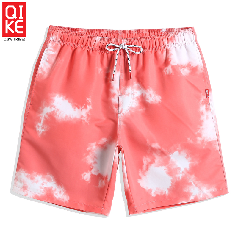 2019 Men's Bathing suit swimsuit quick dry surfing liner   board     shorts   plus size printed briefs beach   shorts   joggers loose