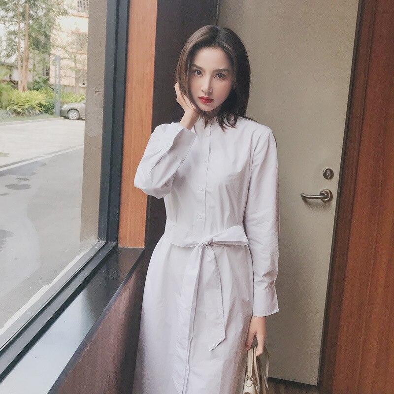 Popular primavera 2019 vestido plisado largo verano Casual mujer alta cintura Elascity envío gratis
