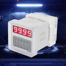 цена на DH48S-1Z LCD Display Time Relay Timer Delay Relay 380VAC 0.01 Seconds-99Hours/99 Minutes Timer Delay Relay
