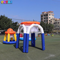 High quality indoor inflatable basketball hoop for sport game 2.5M height price inflatable basketball shooting game equipment