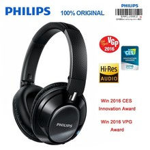 Original Philips SHB9850 Wireless Bluetooth Headphones Active Noise Cancelling with Microphone NFC Headset Official Verification