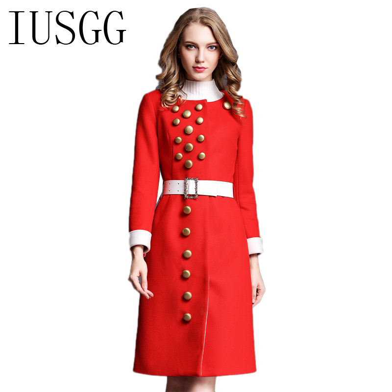 Online Get Cheap Womens Long Wool Winter Coats -Aliexpress.com ...