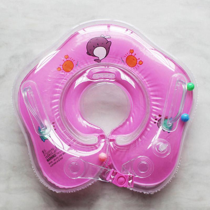 pink neck float