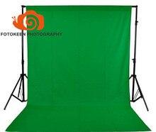 1.5*3 М/5 x10FT Фотостудия нетканые Ткани Фон, Chroma Key Сплошной Цвет Ткани фон, Черный Белый Зеленый (опционально)