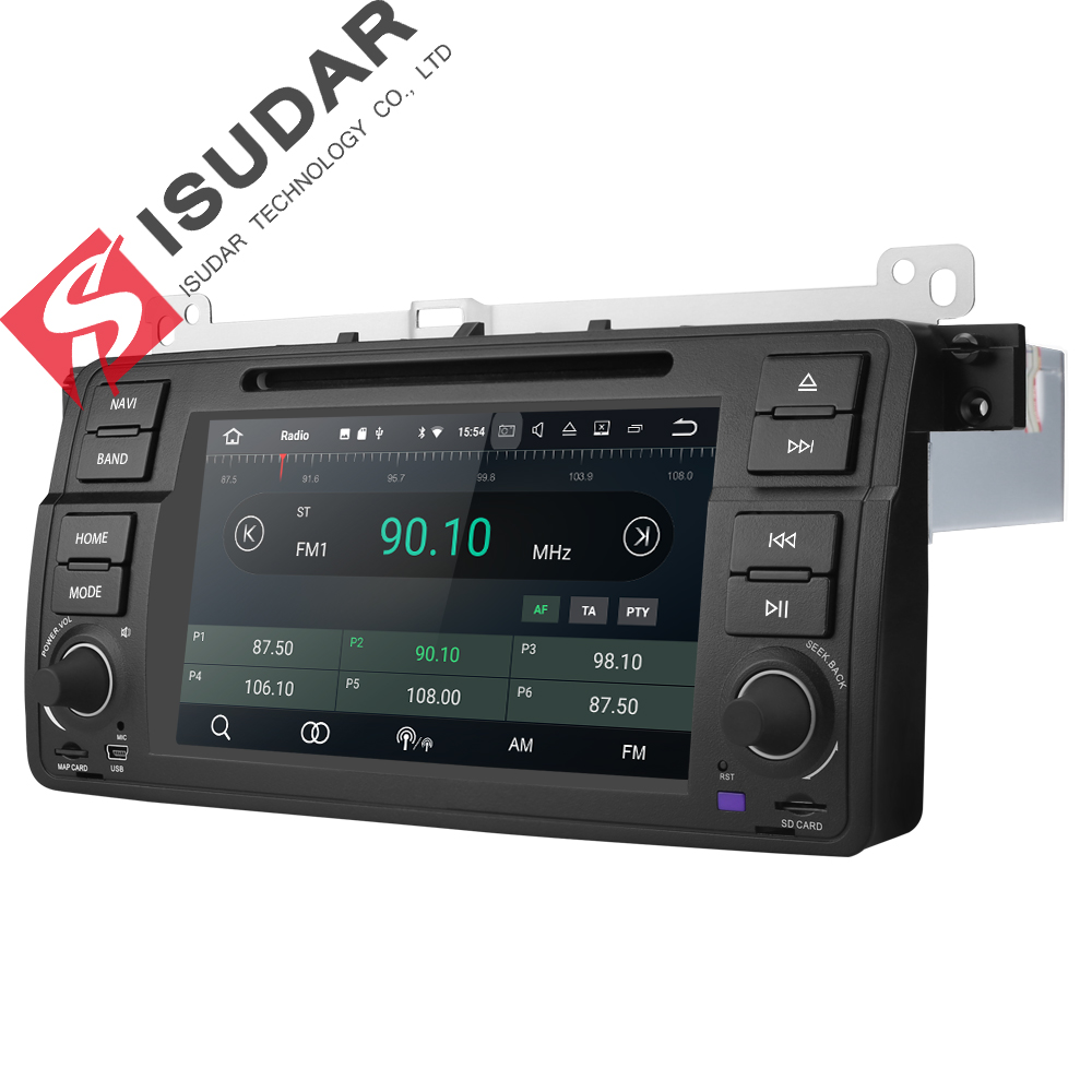 Isudar Car Multimedia Player Android 8.1.0 GPS 1 Din DVD Automotivo - Electrónica del Automóvil - foto 5