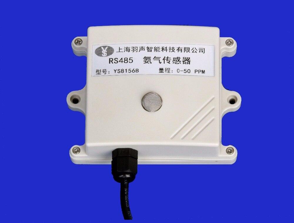 Ammonia Gas Sensor MOD BUS-RTU RS485 Serial Port MQ137 High Precision Ammonia Gas Gas Sensitivity