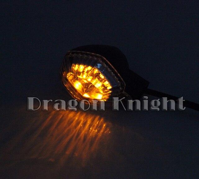 For SUZUKI DL650 V-storm 04-10, DL1000 V-storm 06-12 smoke Motorcycle Accessories LED Turn Signal Indicator Lights Blinker Lamp