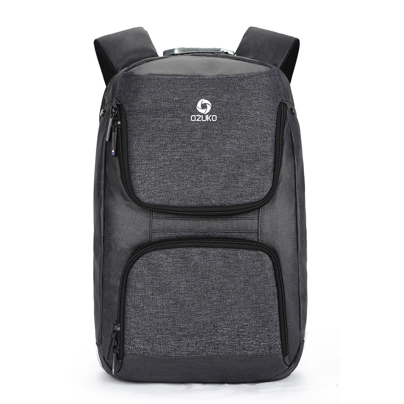Fashion Waterproof Oxford Men USB Charging Interface Backpack Anti Theft Password lock Male Travel Laptop Bagpack men backpack anti theft multifunctional oxford fashion college student school backpack password lock laptop computer bag