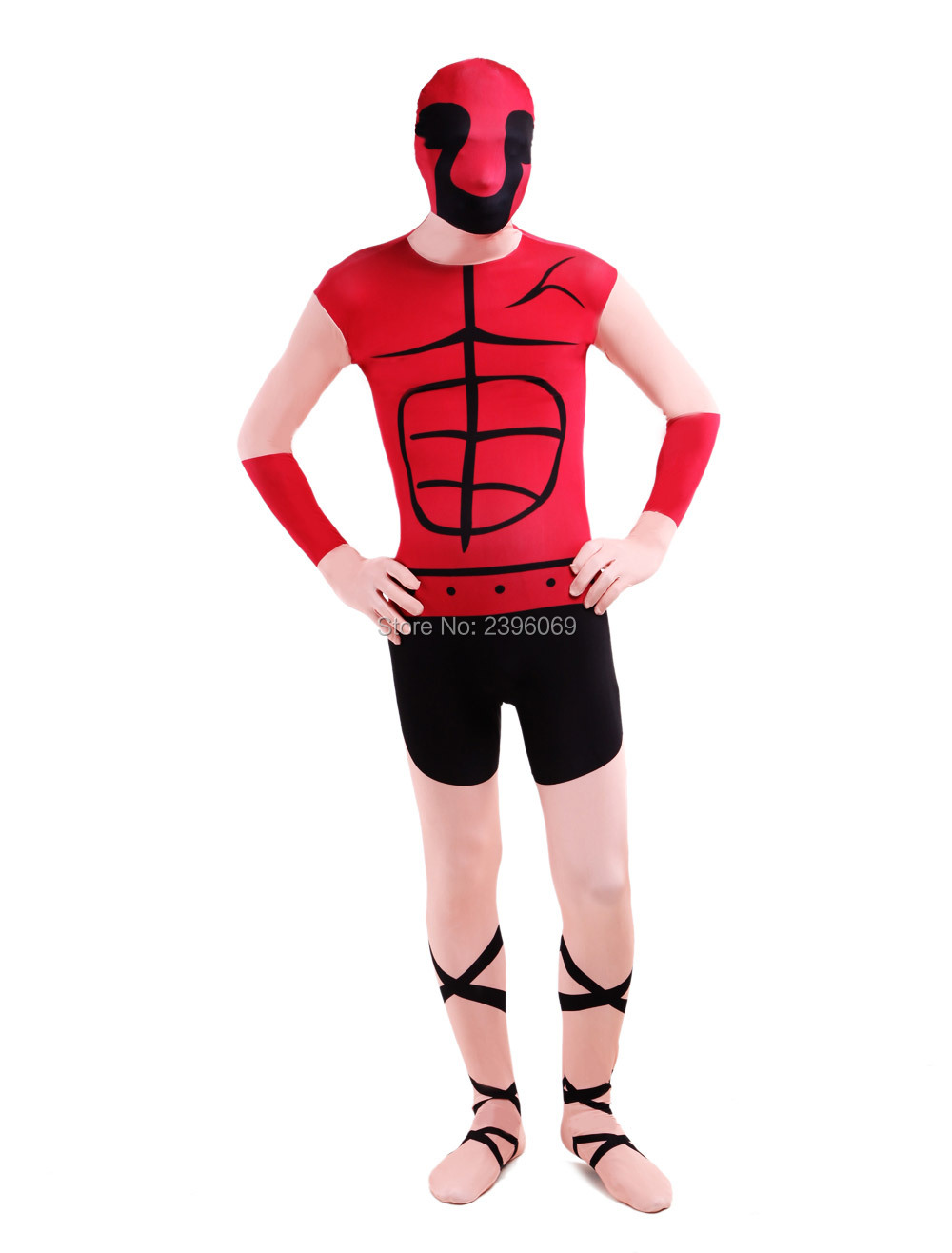 LS007Lycra Spandex Outfit Halloween Turtle Shell Pattern Multicolor Zenai Fetish Suits Halloween Costume