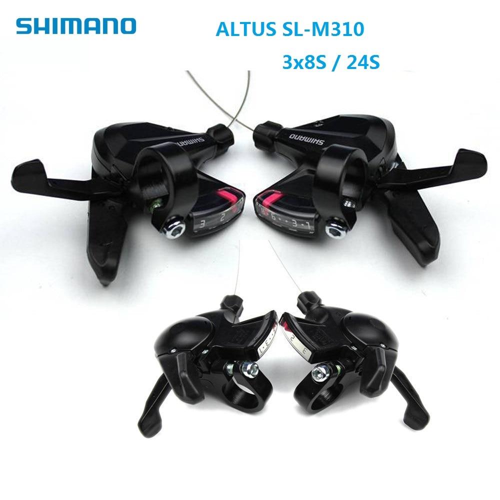 Fahrrad Schaltwerk Schalthebel Shimano EINE ltus SL M310 3 s x 8 s 24 Geschwindigkeit Daumen Shifter MTB Berg fahrrad Zubehör