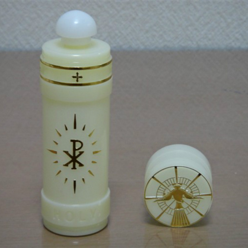 Christian Katholischen Heiligen Wasser Flasche Exquisite Kleine Tragbare St. Wassermann Ampullae 12*3 Cm Ampulle Handwerk Geschenke Ritus 2 Teile/los