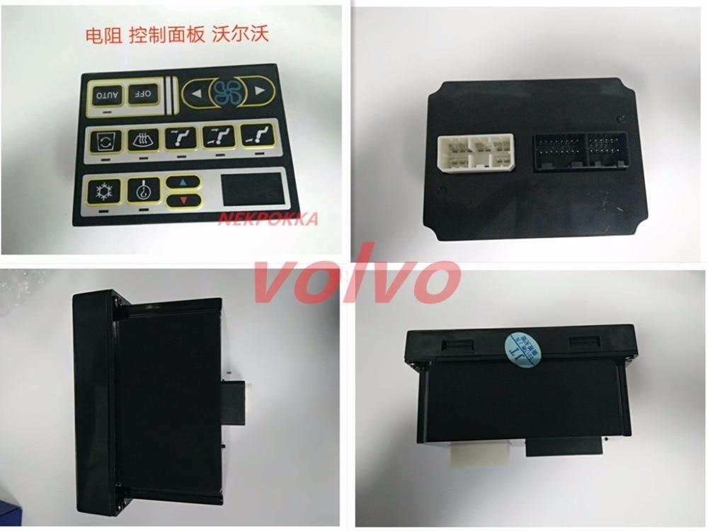 Automobile air conditionné panneau pour volvo, climatisation contrôleur interrupteur du panneau pour volvo