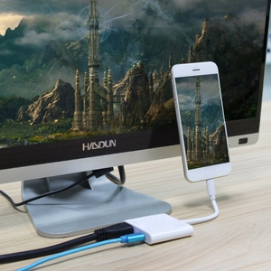 Image 4 - Lighting to HDMI Av Adapter สำหรับ iPhone Lightning to HD TV Audio Video HDTV Converter สำหรับ iPhone X 6S สำหรับ iPad iPod