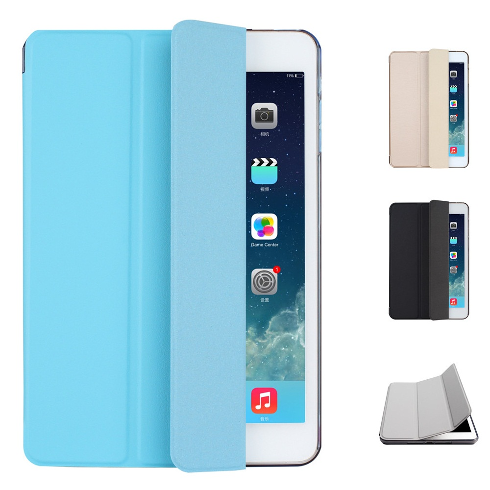 TPU Material Sleep Wake Up Support Design Holder Protective Cover Case for iPad Air 1 Air 2 Pro 9.7 philips hf350570 wake up light световой будильник
