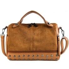 JUILE brand Women shoulder bag fashion pu leather handbag rivet Ladies Messenger Bag personality girl High capacity clutch