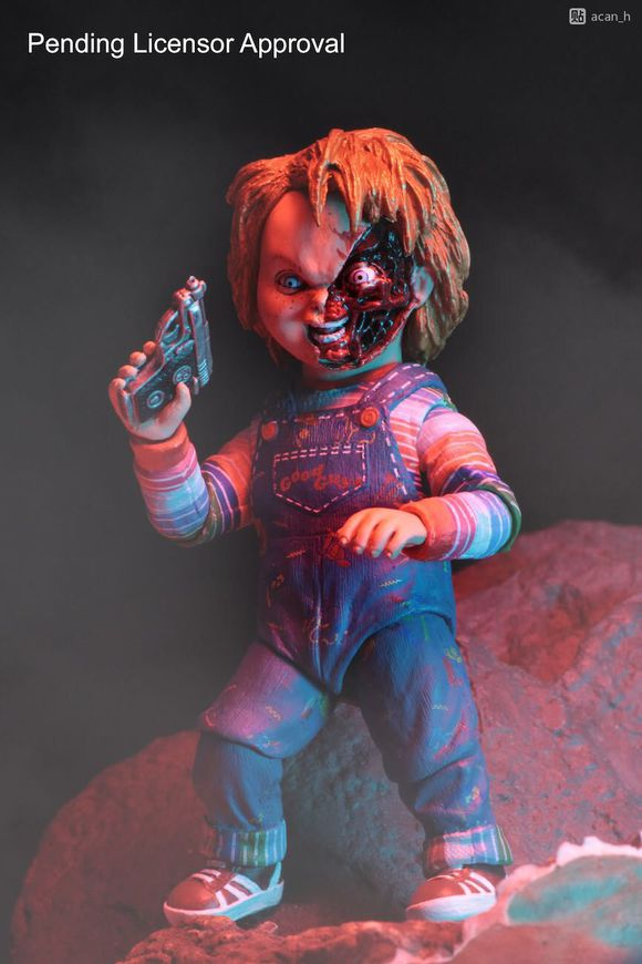 NECA GOOD GUYS CHUCKY Horror Doll PVC BJD Figure Collectible Model Toy 15cm