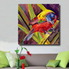 HDARTISAN Colorful Bird Animal Oil Painting Pictures Canvas Wall Art For Living Room Hotel Office Home