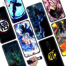 Dragon Ball Super Son Goku Black Soft Case for Oneplus 7 Pro 7 6T 6 Silicone TPU Phone Cases Cover Coque Shell