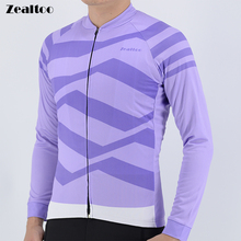 Winter Thermal Fleece Cycling Jerseys spring/autumn Pro long sleeve mens cycling jersey Ropa Ciclismo bicycle clothes maillots