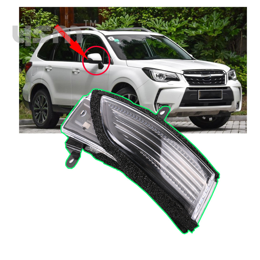 New Door Side Rear View Mirror Turn Signal Lens Right For