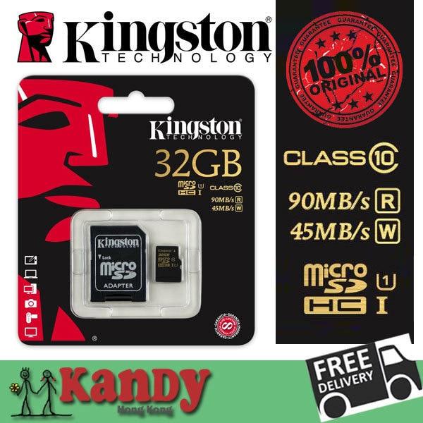 Kingston карта micro sd карты памяти 16 ГБ 32 ГБ 64 ГБ класса 10 uhs UHS-I microsd картао де memoria tarjeta micro карт оптовая лот