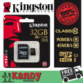 Kingston micro sd card memory card 16gb 32gb 64gb class 10 UHS-I microsd uhs cartao de memoria tarjeta micro carte wholesale lot