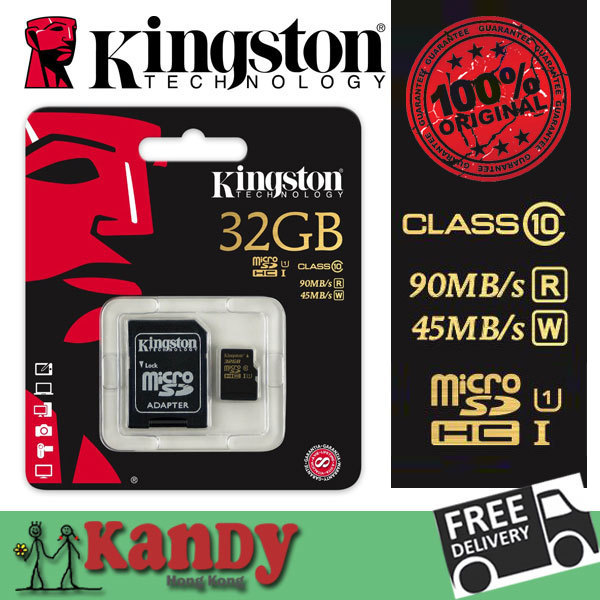 Kingston micro sd card memory card 16gb 32gb 64gb class 10 UHS-I microsd uhs cartao de memoria tarjeta micro carte wholesale lot