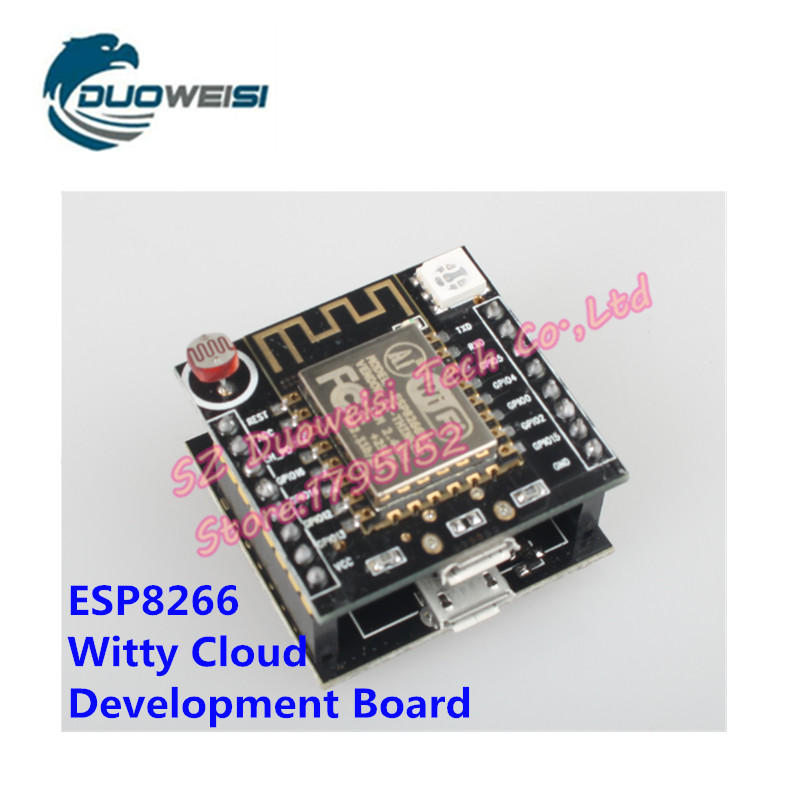 ESP8266 Serial WIFI Witty Cloud Development Board ESP-12F MINI Nodemcu CH340 Micro USB Module ...