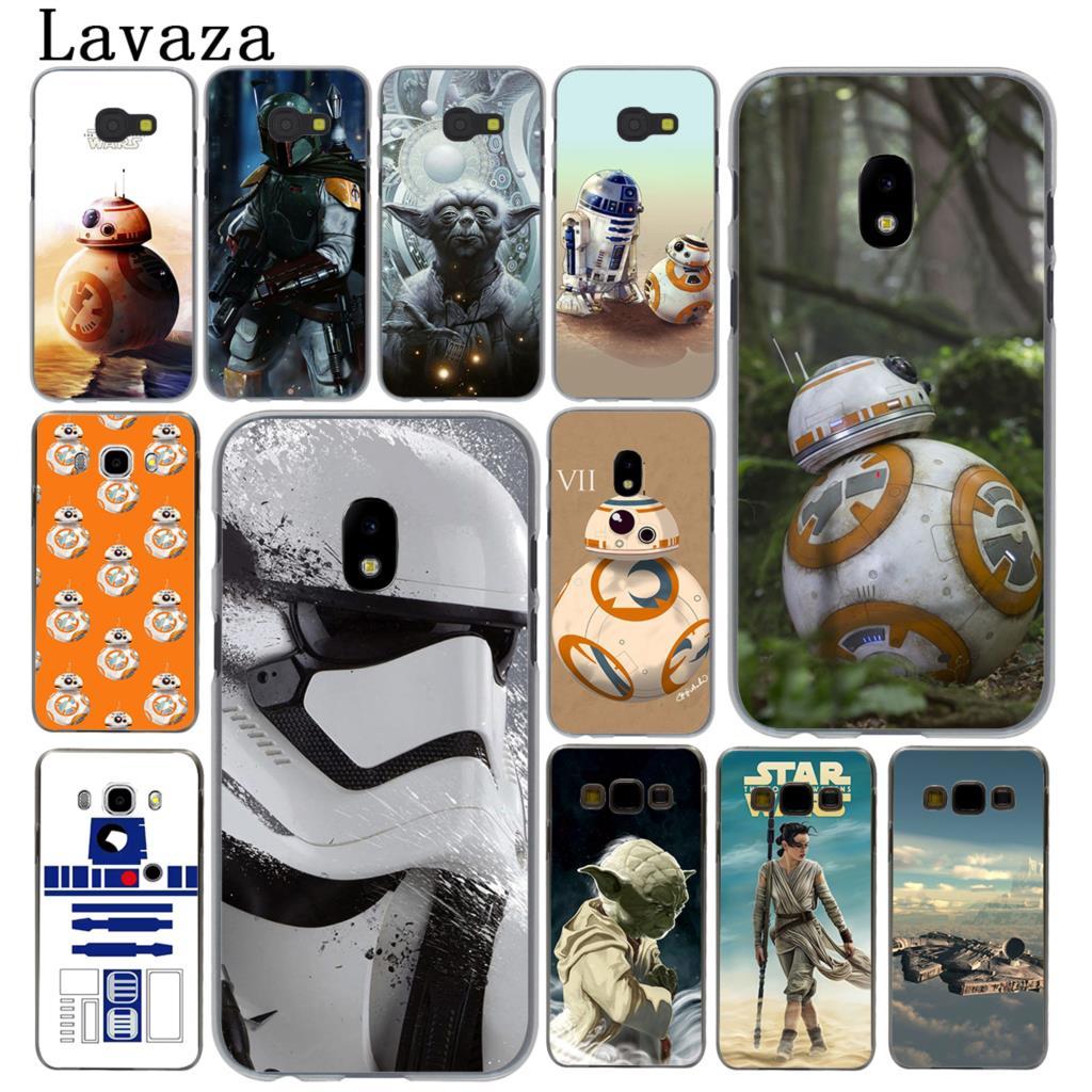 Lavaza Star Wars Yoda BB-8 Droid Robot Hard Phone Case for Samsung Galaxy J5 J1 J2 J3 J7 2017 2016 2015 2018 J3 J5 Prime Cover