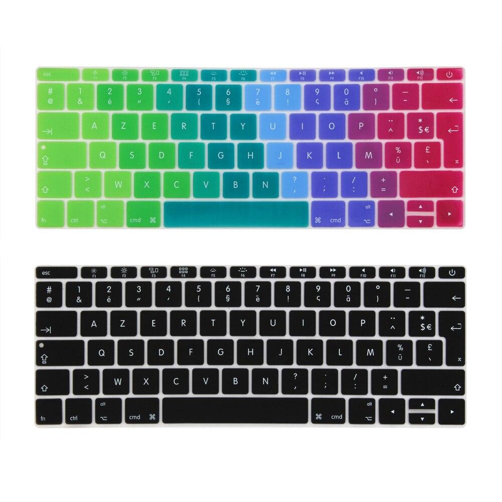 Franse Frankrijk Euro Voer Keyboard Cover Voor Macbook 12 Inch Model A1534