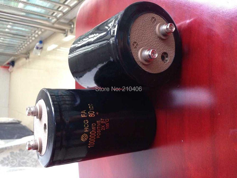 Quality Assurance free shipping 2pcs 80v 100000uf Electrolytic Capacitor Radial  75MM*120MM 1mbi300nn 120 pen quality assurance