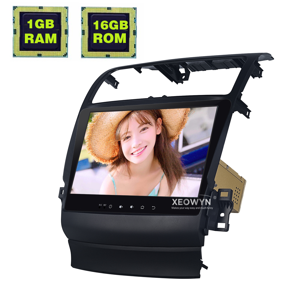 10.1inch Android 6.0 Car Radio Stereo For Acura TSX 2004-2008 GPS Navigation Support Steering Wheel control full touch 1024*600 360 degrees