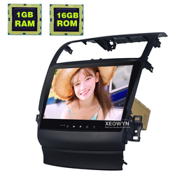 10.1 pollici Android 6.0 Auto Radio Stereo Per Acura TSX 2004-2008 di Navigazione GPS controllo del Volante di Sostegno pieno di tocco 1024*600