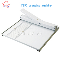 paper creasing machine Manual Paper Folding Machine, Y350 Paper Grater for Slit Length 350mm / A3 +paper creaser