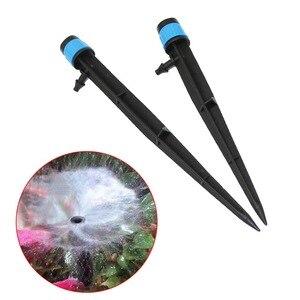 Image 1 - 100 pcs 13 cm 16 cm Alle ronde Verstrooiing Yongquan Sprinklers 360 Graden Watering Dripper Huis Tuin Landbouw Irrigatie spuit