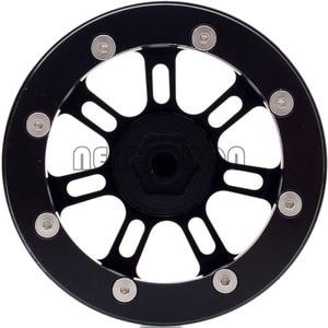 "Image 5 - Novo enron 4 pçs roda de metal jantes hub 2.2 ""apto para rc rock crawler axial wraith yeti scx10 rr10 trx4 TRX 4 km2 90045 90031 90020"