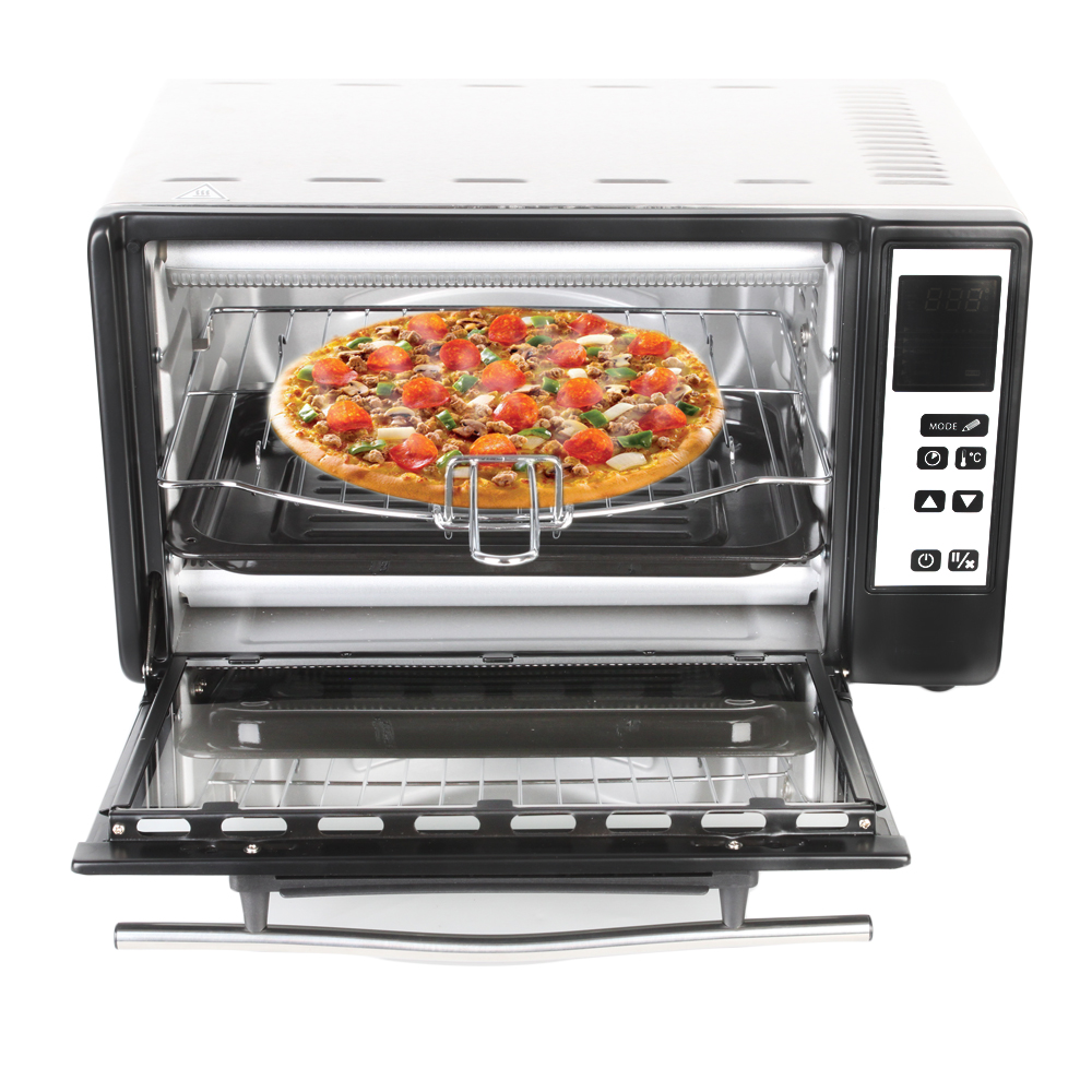 ITOP Pizza Oven Cake Bread roasted chicken Pizza Cooker Commercial use Kitchen Baking Ovens With Baking Tray Basket