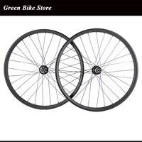 Mountain carbon wheels 29er mtb carbon wheelset 30mm width 25mm depth clincher wheels hookless mtb wheels