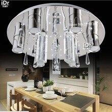 Из светодиодов кольцо огни кристалл спальни творческий ресторан пузыря колонка потолочные светильники Rmy-0470