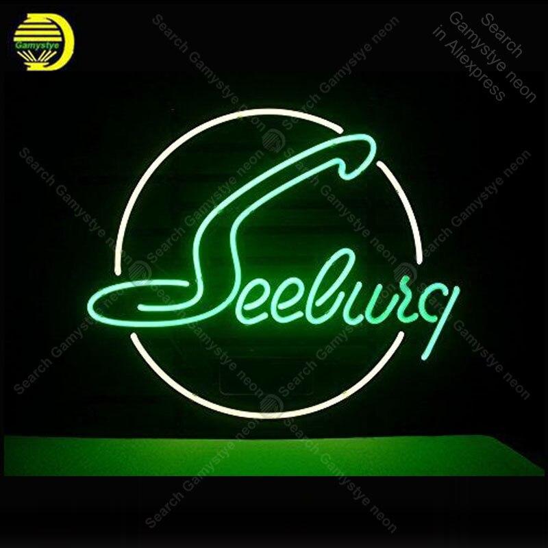 Enseigne au néon pour nouveau Seeburg enseigne au néon personnalisée enseigne murale pour chambre enseigne personnalisée nein enseigne Express lampe salle de bière accessoires