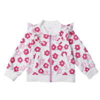 VTOM Hot Sale Autumn New Baby Kids Coats Cotton Jacket Zip Long-sleeved Jacket Coat Kids Clothes For Girls With High Quality