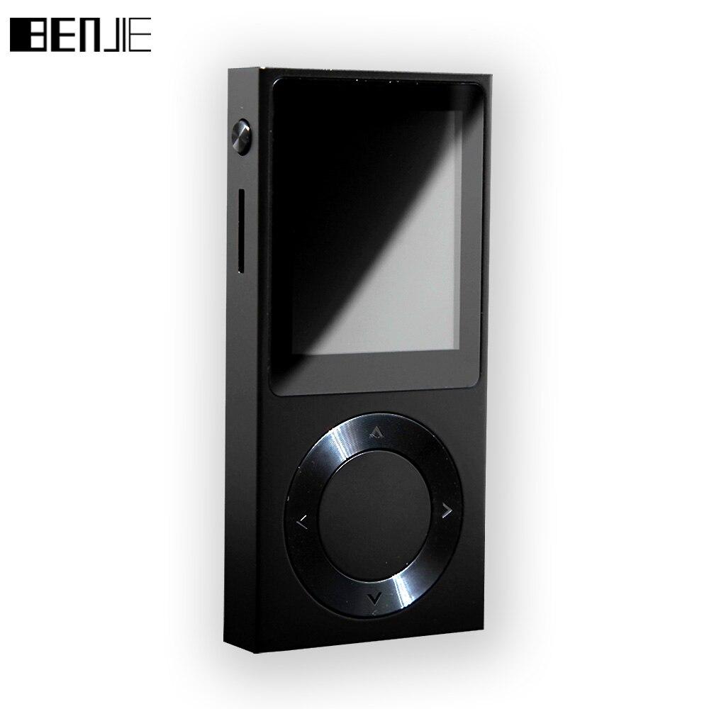 BENJIE T6 HiFi MP3 Music Player 1 8 TFT Screen Full Zinc Alloy Lossless HiFi MP3